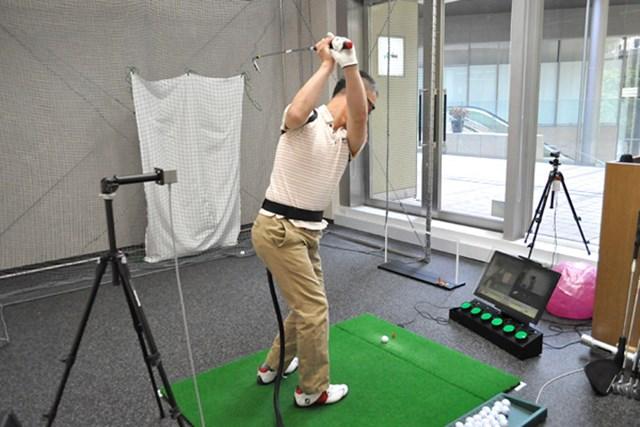 golftec 手打ちではない積極的な腕の使い方! 1-1