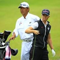 日本名「ダテ・キミコ」。久々に写真アップですかね。3アンダー7位タイ。 2013年 ヨネックスレディスゴルフトーナメント 初日 タミー・ダーディン