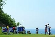 2013年 ヨネックスレディスゴルフトーナメント 2日目 14番ティ