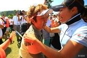 2013年 ヨネックスレディスゴルフトーナメント 最終日 表純子&森田理香子