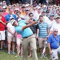 15番でデジャブ(正夢)に襲われたスコット・ストーリングス(Getty Images) 2013年 フェデックスセントジュードクラシック 最終日スコット・ストーリングス