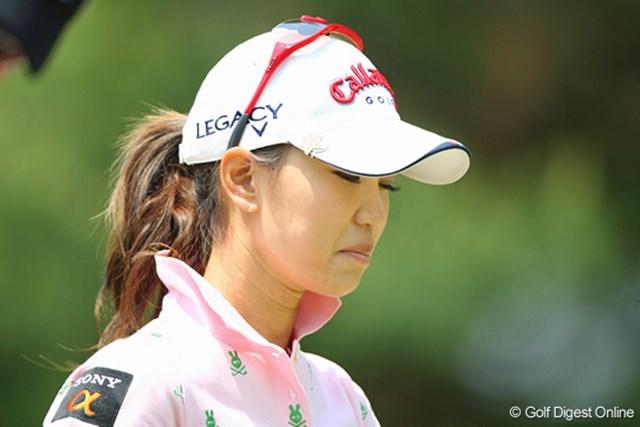 大山、宮里の活躍とは対照的に、39位に終わった上田はため息続き