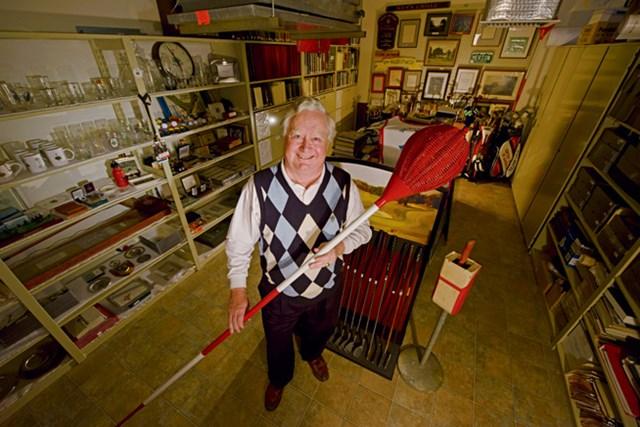 2013年 WORLD メリオンGC メリオンに眠る数々の歴史物を管理するジョン・ケイパーズIII(GD)