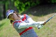 2013年 サントリーレディスオープンゴルフトーナメント 初日 中村香織