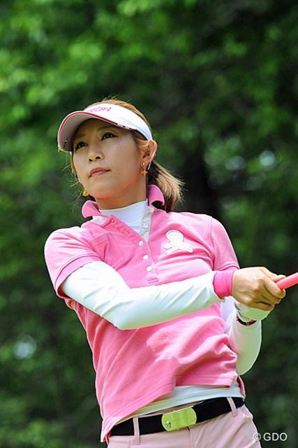 6位タイスタートを切った金田久美子。今週は暑さも大敵、体力温存もポイントに挙げる