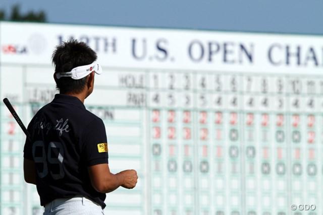 藤田寛之/2013年全米オープン 最終ホールのダブルボギーで予選通過を逃した藤田寛之