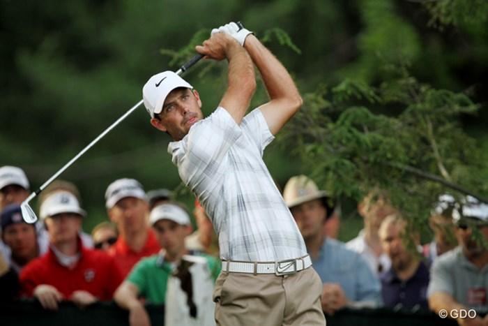 トップとはまだたったの1打差。虎視眈々と優勝を狙う 2013年 全米オープン 3日目 チャール・シュワルツェル