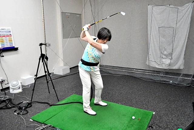 golftec LからLでヘッドの移動距離をアップ! 1-1