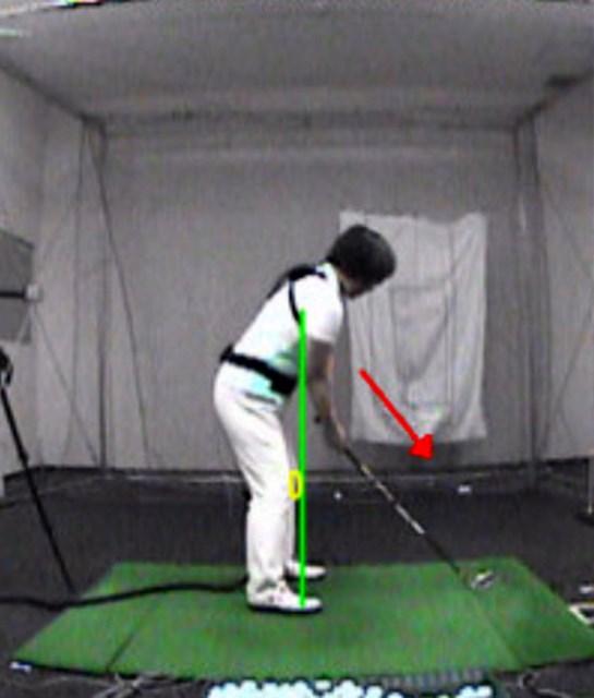 golftec LからLでヘッドの移動距離をアップ! 2-1