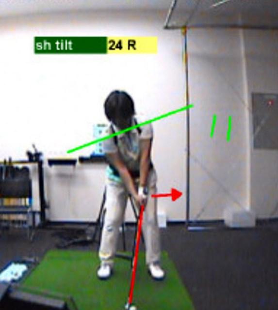 golftec LからLでヘッドの移動距離をアップ! 2-2