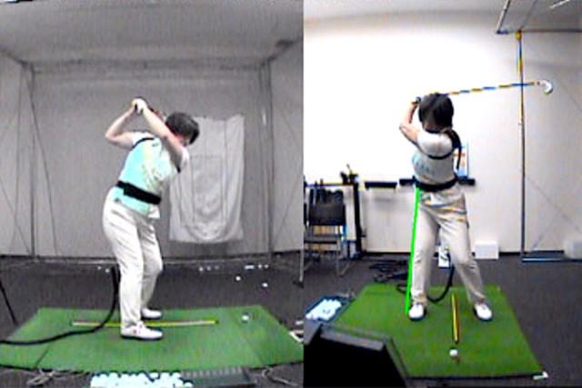 golftec LからLでヘッドの移動距離をアップ! 3-1