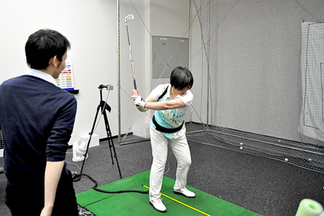 golftec LからLでヘッドの移動距離をアップ! 5-1