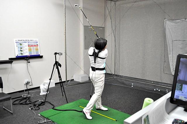 golftec LからLでヘッドの移動距離をアップ! 5-2