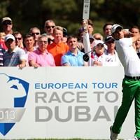 「BMW PGA選手権」に続き、BMWスポンサード競技2勝目を狙うM.マナッセロ (Getty Images) 2013年 BMWインターナショナル・オープン 事前情報 マッテオ・マナッセロ