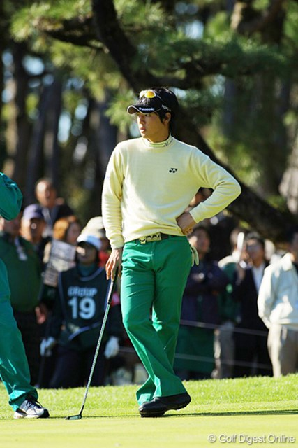 出入りの激しいゴルフで1オーバー34位タイの石川遼