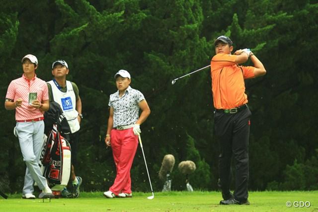 2013年 日本ゴルフツアー選手権 Shishido Hills 初日 松山英樹 松山英樹が今週も好発進。注目された石川遼とのプロ初対決も、完全に制した。