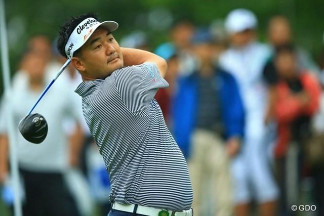 2013年 日本ゴルフツアー選手権 Shishido Hills 初日 ハン・リー フェアウェイをとらえる回数が多く7つのバーディを奪ったハン・リーが首位と2打差の2位タイ