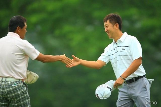 2013年 日本ゴルフツアー選手権 Shishido Hills 初日 S.K.ホ 歴代チャンピオンも2位タイと好スタート。