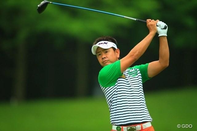 2013年 日本ゴルフツアー選手権 Shishido Hills 初日 藤田寛之 USオープン帰りの藤田さんには、タフな宍戸も簡単なコースに見えてしまいそうですね。3アンダー11位タイスタート。