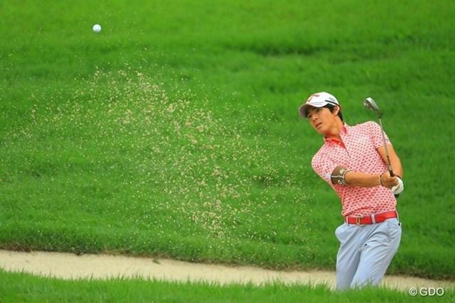 2013年 日本ゴルフツアー選手権 Shishido Hills 初日 石川遼 ショットの不調を小技でカバーする事も出来ず・・・。