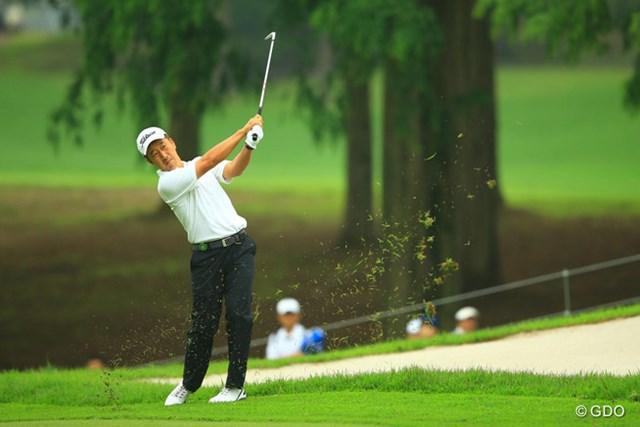 2013年 日本ゴルフツアー選手権 Shishido Hills 2日目 S.K.ホ 安定したゴルフでスコアを伸ばし単独3位です。やはり宍戸はお得意なんですかね。