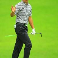 雨の降らない早い時間にスタートしスコアを伸ばし9位タイに浮上 2013年 日本ゴルフツアー選手権 Shishido Hills 2日目 河野晃一郎