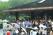2013年 日本ゴルフツアー選手権 Shishido Hills 3日目 雨宿り