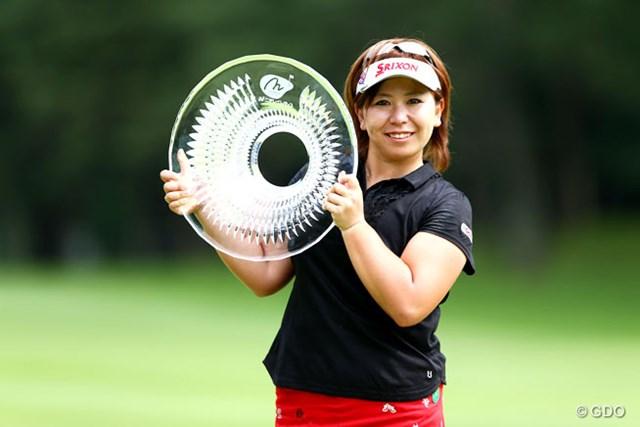 2013年 ニチレイレディス 最終日 吉田弓美子 最終日はノーボギー。2位に2打差をつけて通算2勝目を飾った吉田弓美子