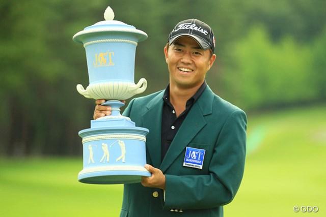 2013年 日本ゴルフツアー選手権 Shishido Hills 最終日 小平智 ツアー初勝利をメジャータイトルで飾った小平智。5年シードも手にし、23歳の未来は大きく開けた