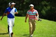 2013年 日本ゴルフツアー選手権 Shishido Hills 最終日 松山英樹 宮里優作