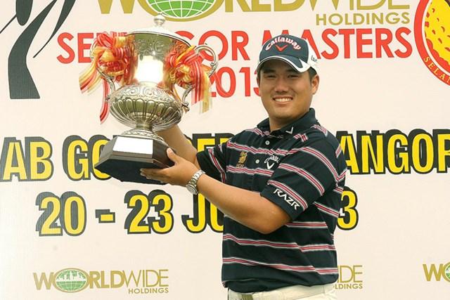 4日間首位を守る完全勝利で、ツアー通算2勝目を飾ったP. ジュンハッサワディークル ※画像提供:アジアンツアー