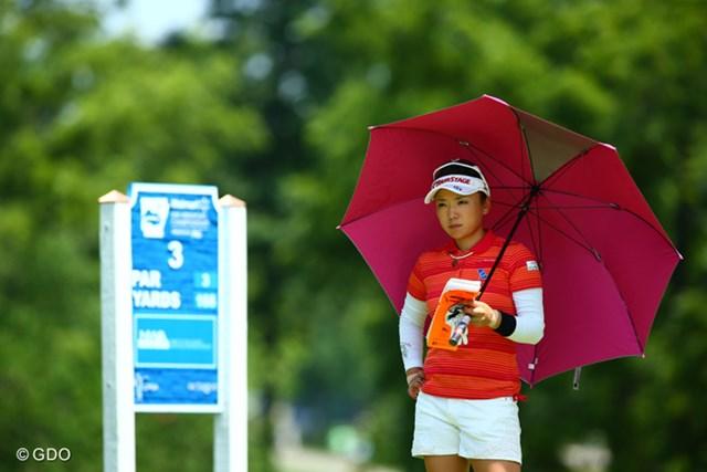 2013年 ウォルマート NW アーカンソー選手権 by P&G 最終日 有村智恵 首位タイからのスタートも、グリーン上で苦しみ米ツアー初勝利は叶わなかった有村智恵