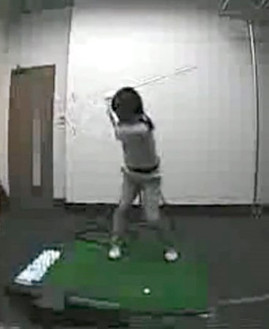 golftec 右脇は締める?締めない? 3-2