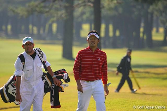 首位と1打差の3位タイという好位置で決勝ラウンドを迎える武藤俊憲