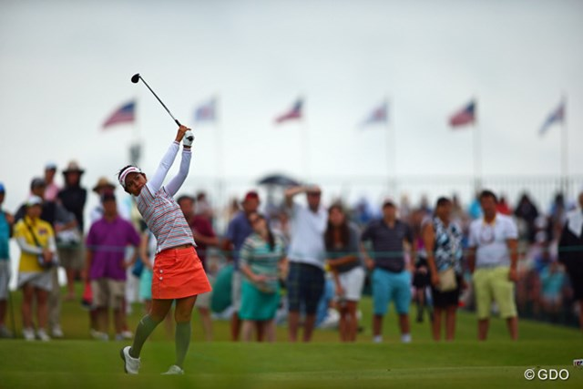 2013年 全米女子オープン 最終日 宮里藍 最終日も粘りのゴルフで11位タイとなった宮里藍