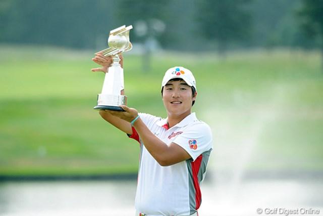 2013年 長嶋茂雄 INVITATIONAL セガサミーカップゴルフトーナメント 事前情報 イ・キョンフン 昨年大会を制したのはイ・キョンフン。北の大地で嬉しいツアー初勝利を掴んだ