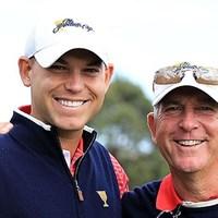 PGAツアーで2代に渡り成功を収めているジェイ・ハース(右)とビル・ハース親子(Getty Images) ジェイ・ハース(右)とビル・ハース親子