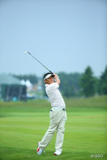2013年 長嶋茂雄 INVITATIONAL セガサミーカップゴルフトーナメント 初日 丸山茂樹 この猫っぽいクラブさばきが好き