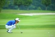 2013年 長嶋茂雄 INVITATIONAL セガサミーカップゴルフトーナメント 初日 上平栄道