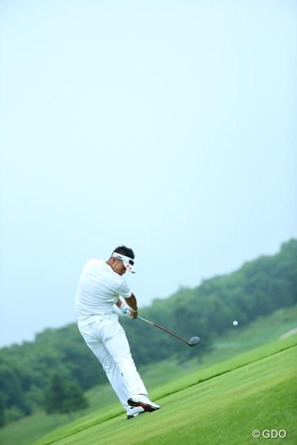 2013年 長嶋茂雄 INVITATIONAL セガサミーカップゴルフトーナメント 初日 松山英樹 ほら!プロはボールを追わないのだ