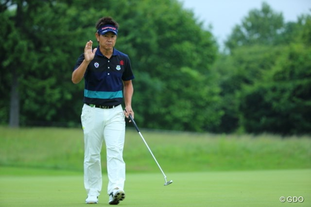 2013年 長嶋茂雄 INVITATIONAL セガサミーカップゴルフトーナメント 初日 藤田寛之 賞金王が単独首位発進。藤田寛之は難グリーンを攻略した