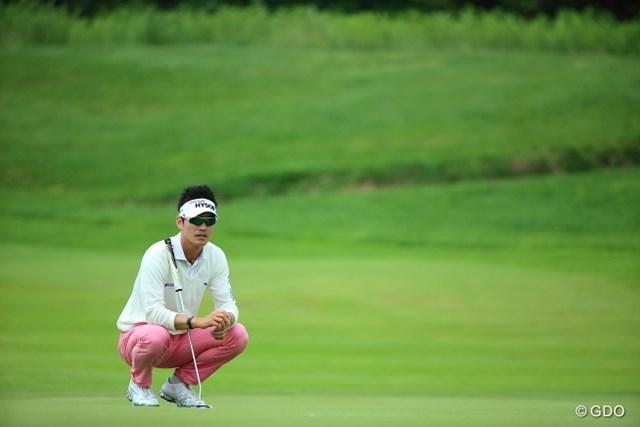 2013年 長嶋茂雄 INVITATIONAL セガサミーカップゴルフトーナメント 初日 キム・ヒョンソン 昨年大会は惜しくも2位。ヒョンソンはリベンジ達成なるか