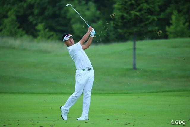 2013年 長嶋茂雄 INVITATIONAL セガサミーカップゴルフトーナメント 初日 松山英樹 前週は予選落ちの松山英樹。2日目に巻き返したい