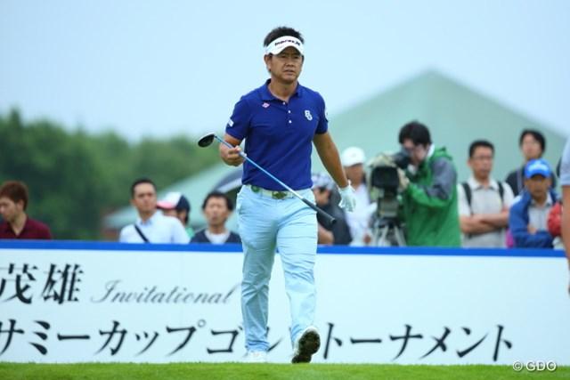 2013年 長嶋茂雄 INVITATIONAL セガサミーカップゴルフトーナメント 2日目 藤田寛之 苦しみながらも連日のアンダーパー。藤田寛之は今季初勝利へ向け単独首位で決勝ラウンドへ。