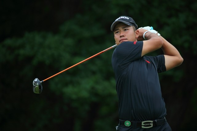 2013年 長嶋茂雄 INVITATIONAL セガサミーカップゴルフトーナメント 2日目 松山英樹 この日のベストスコアにあと1打に迫る「67」。万全の状態ではないが松山英樹が上位で予選を通過した。