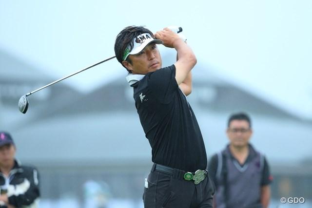 2013年 長嶋茂雄 INVITATIONAL セガサミーカップゴルフトーナメント 2日目 井上信 前週には全英出場権もゲット。2008年以来となるツアー3勝目がかかる井上信。
