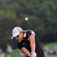 今週から替えた新しいアイアンシャフトで「65」をマークした馬場、3位タイに大きく順位を上げて最終日に挑む 2013年 日医工女子オープンゴルフトーナメント 2日目 馬場ゆかり