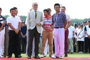 2013年 長嶋茂雄 INVITATIONAL セガサミーカップゴルフトーナメント 最終日 長嶋茂雄氏&池田勇太