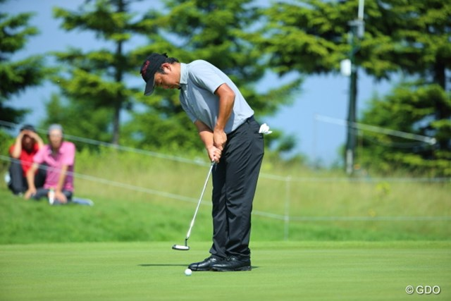 2013年 長嶋茂雄 INVITATIONAL セガサミーカップゴルフトーナメント 最終日 時松隆光 アマ時代は時松源蔵の名前で活躍。「りゅうこう」で覚えてください!パットの打ち方に注目!