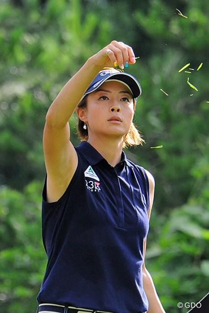 2013年 日医工女子オープンゴルフトーナメント 最終日 下村真由美 シモマユ姐さん!エエ味出してまんなァ~!間違いなく今日の立役者ですワ。ホンマの話、この展開で4つも伸ばすとは…。賞金528万円ゲットン!
